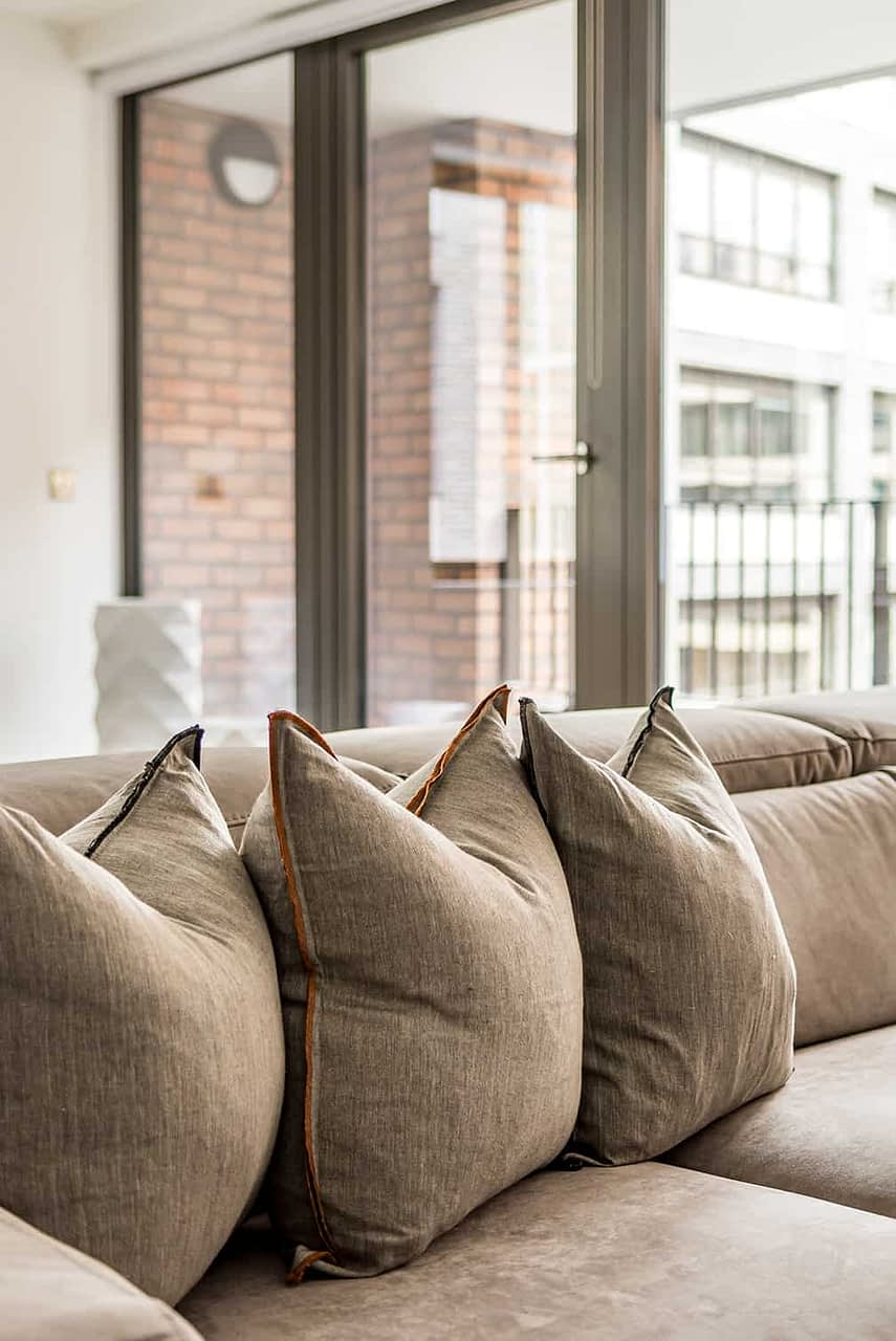 Shoreditch Apartment Lounge Cushions