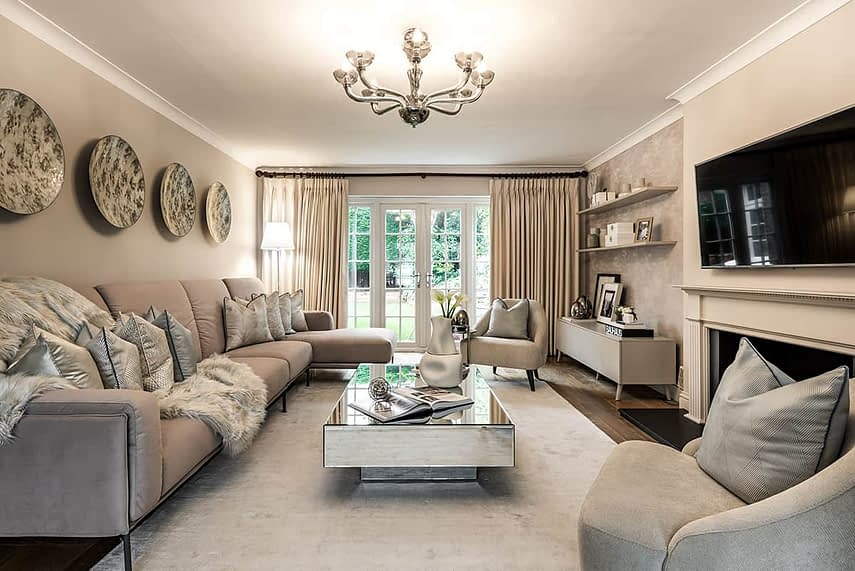 Loughton Family Home Lounge