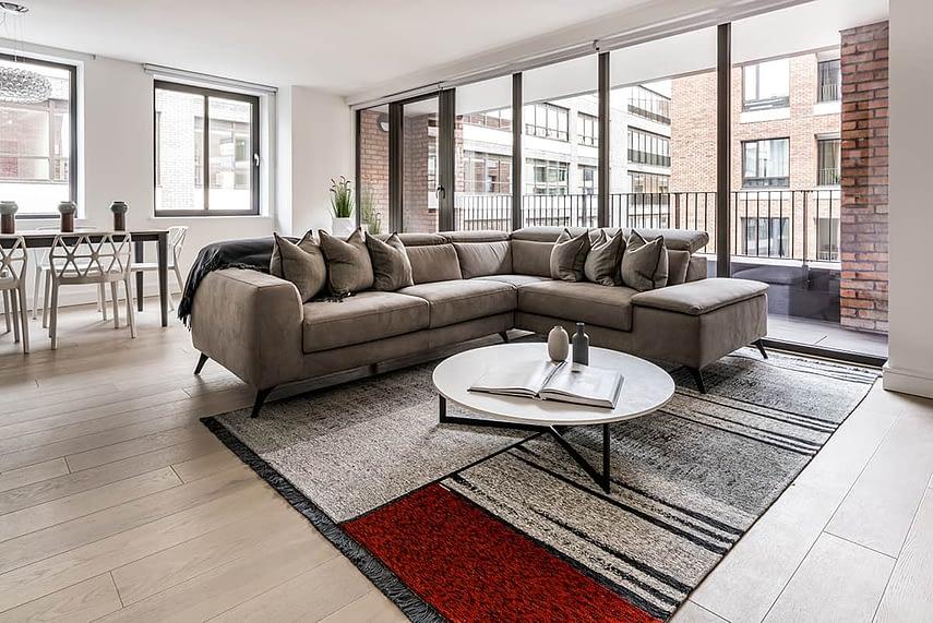Shoreditch Apartment Lounge 2