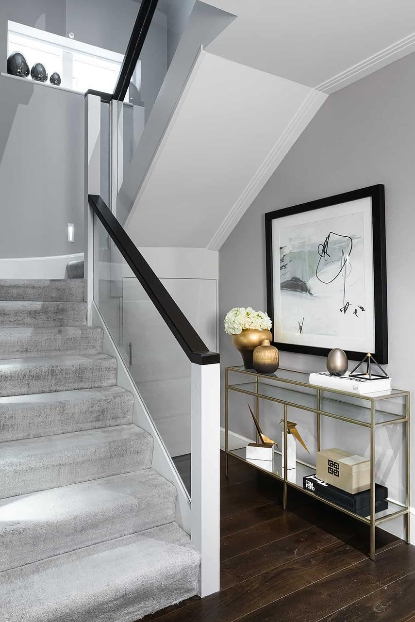 Basement Hallway - Wimbledon