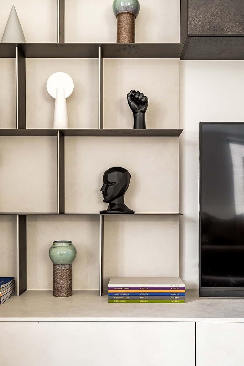 Shoreditch Apartment Shelves