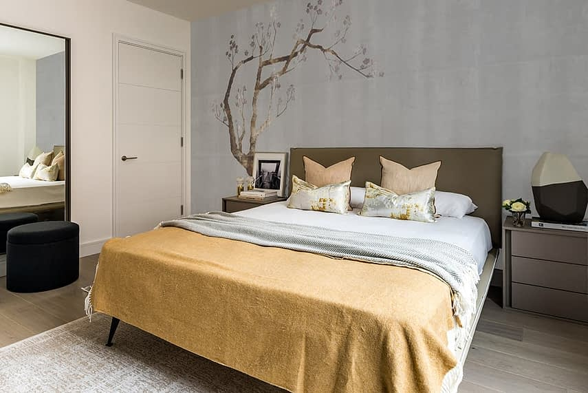Shoreditch Apartment Master Bedroom