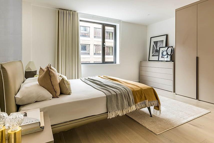Shoreditch Apartment Bedroom