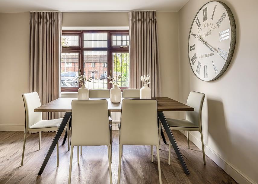 Loughton Interior Design dining table