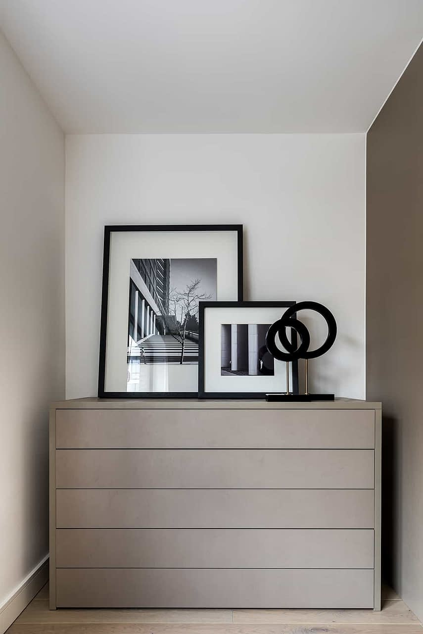 Shoreditch Apartment Bedroom Drawers