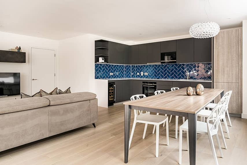 Shoreditch Apartment Kitchen