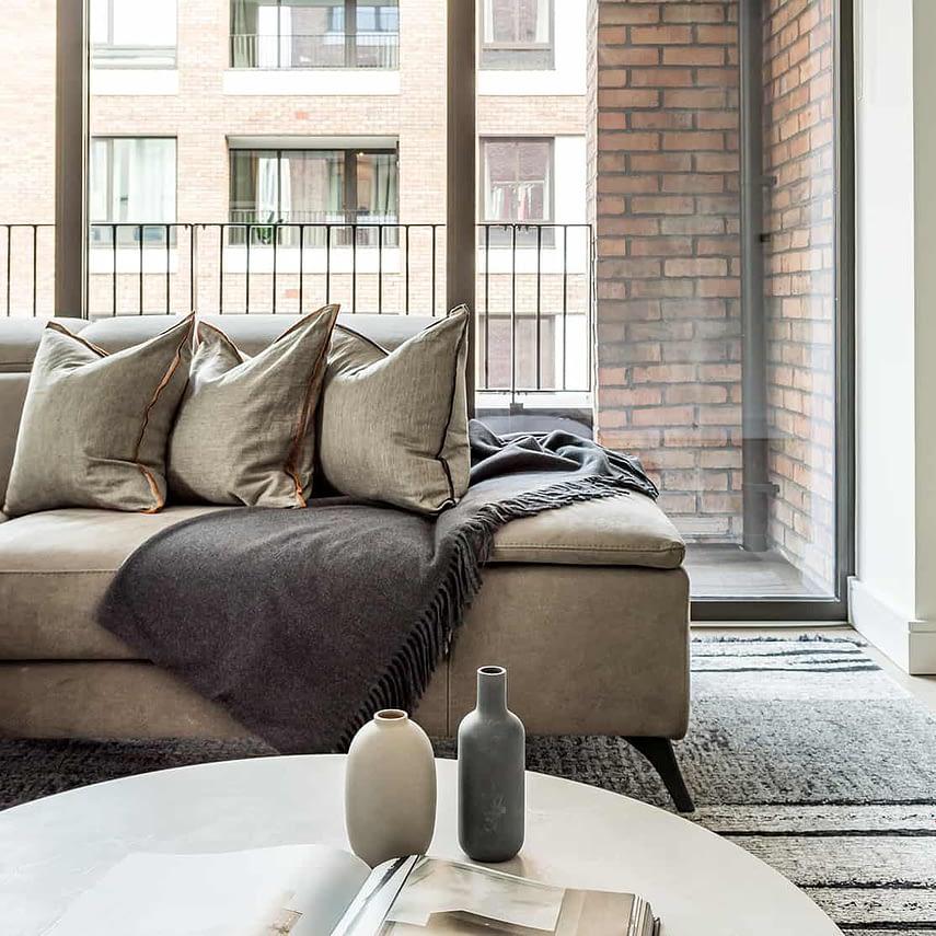 Shoreditch Apartment Lounge Window