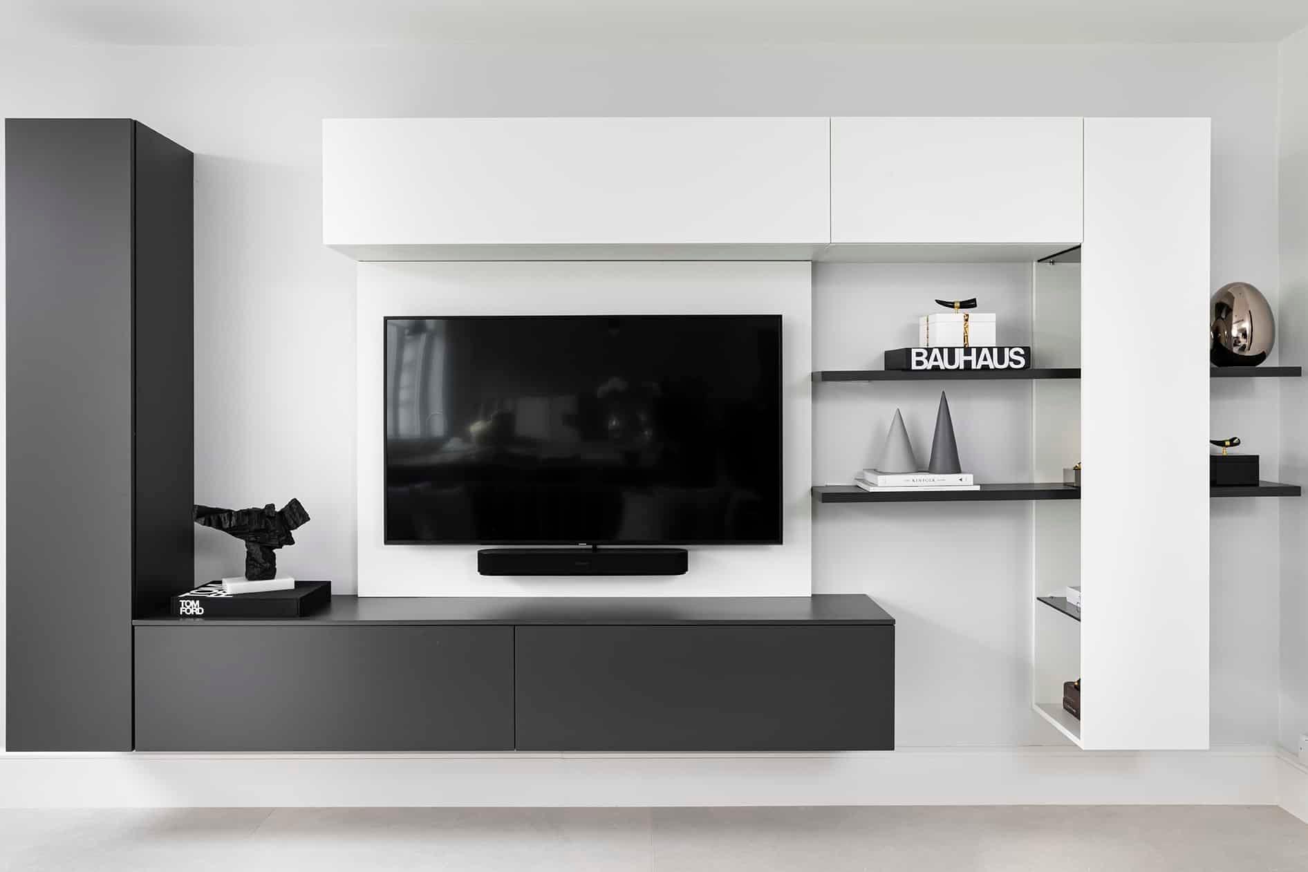 Wall hung TV unit-Wimbledon