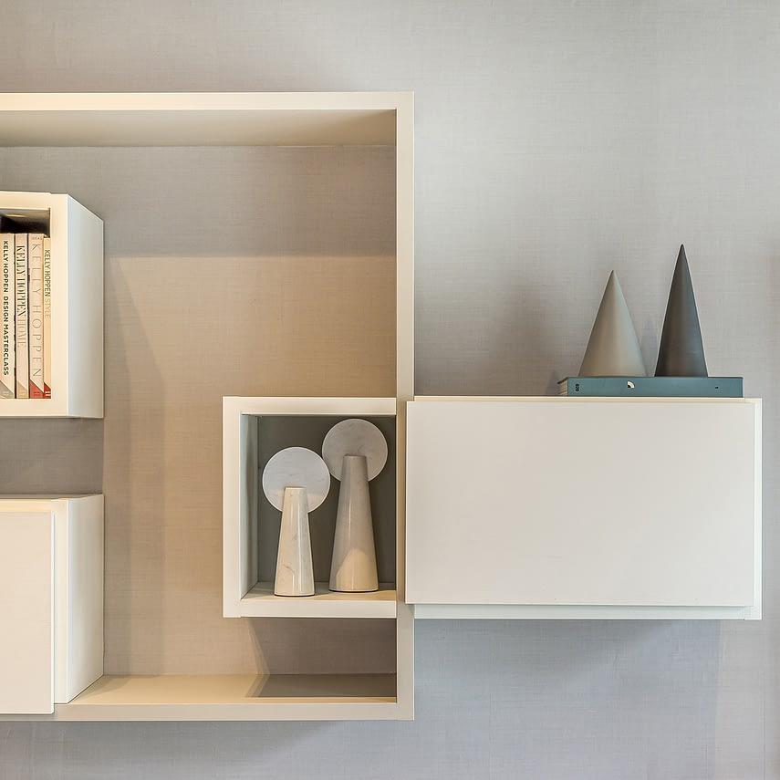 Woodford Green interior shelves