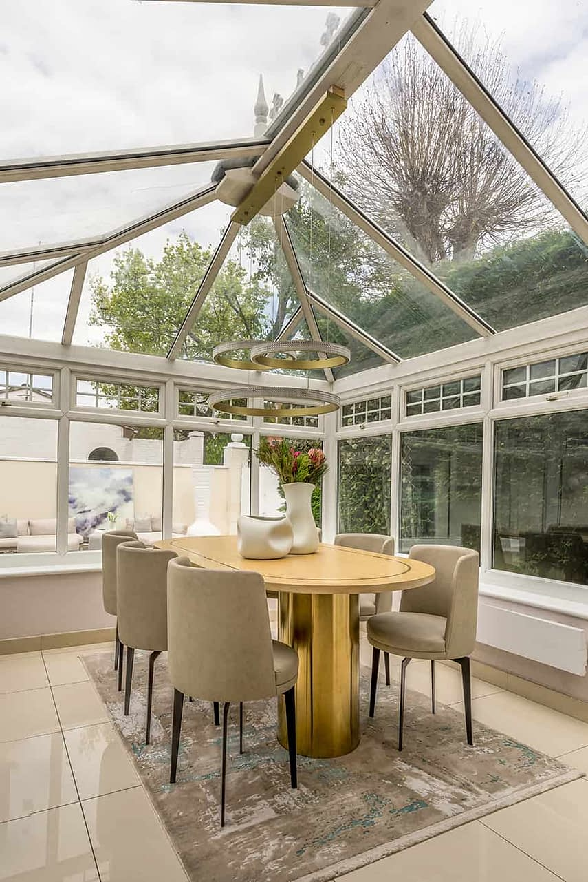 Woodford Green garden conservatory