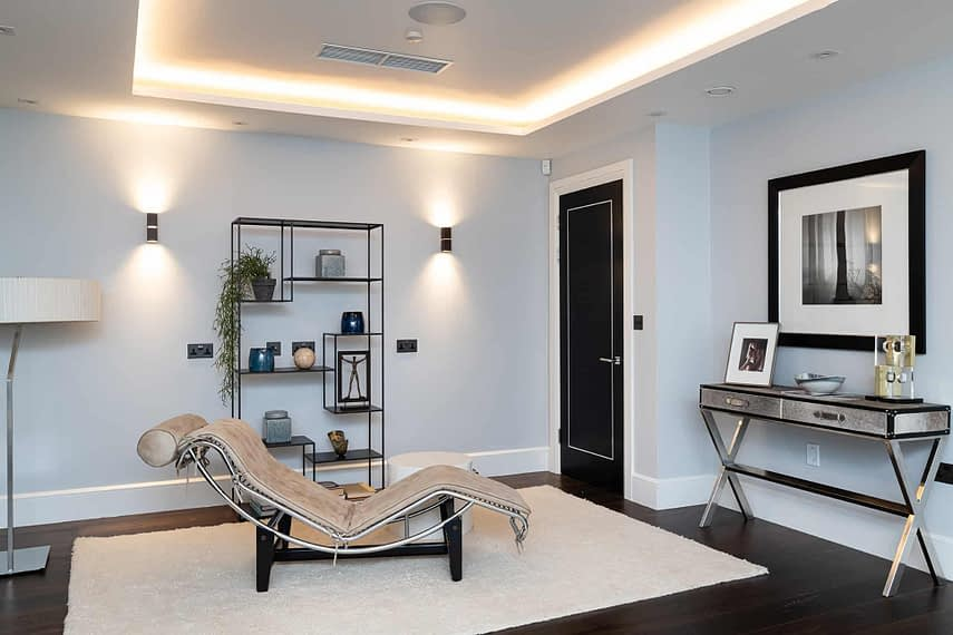 Basement Lounge - Wimbledon Show Home